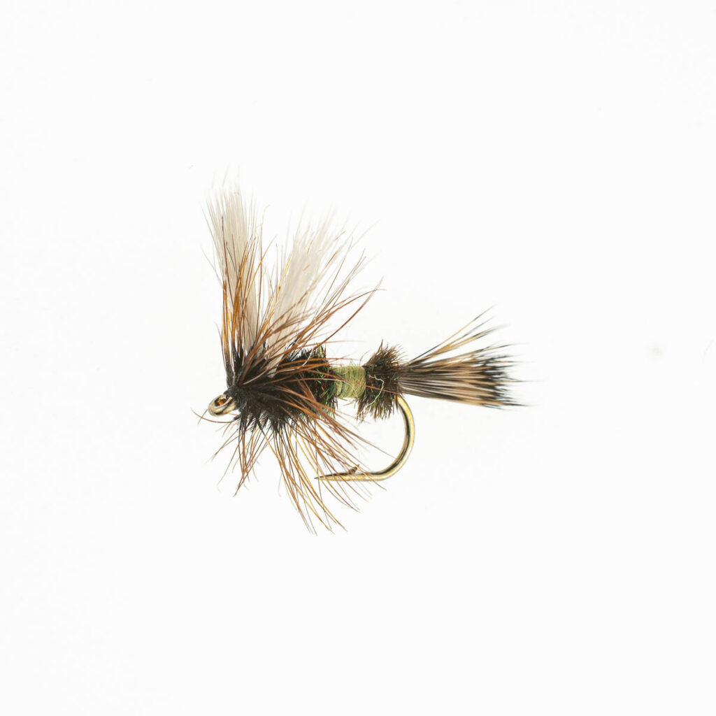 Royal Wulff chartreuse FL0046-12 Onlineflugor