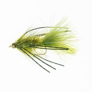 B-H-Rubber-Leg Wolly-Bugger-gron-FL0056-Onlineflugor